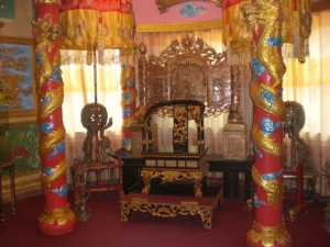 Ornate palace room