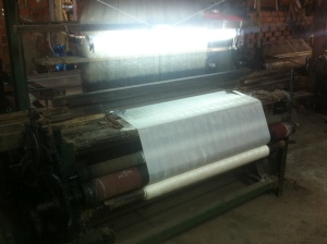 Silk weaving machine